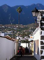 Spanien, Kanarische Inseln, La Palma, in Los Llanos de Aridane