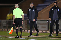 Colchester United manager Steve Ball during Colchester United vs Exeter City, Sky Bet EFL League 2 Football at the JobServe Community Stadium on 23rd February 2021