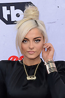 Bebe Rexha @ the 2016 iHeart Radio Music awards held @ the Forum.<br /> April 3, 2016