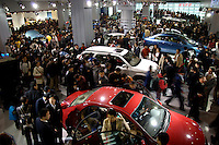 Chinese carmakers stand at 2006 International Automotive Exhibition in Beijing, China. .19 Nov 2006