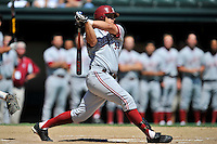 02 June 2008:  Stanford Cardinal Randy Molina (33) during Stanford's 9-7 win over the Pepperdine Waves in the NCAA Stanford Regional final game at Klein Field at Sunken Diamond in Stanford, CA.