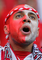 Tunisian Fan. Saudi Arabia and Tunisia played to a 2-2 tie in their FIFA World Cup Group H match at FIFA World Cup Stadium, Munich, Germany, June 14, 2006.