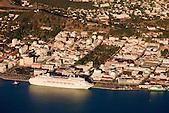 Paquebot Pacific Dawn au quai des Long-Courriers, Petite Rade de Nouméa, Nouvelle-Calédonie
