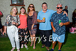 Attending the Midnight Cafe gig  to the residents of Connolly Park on Saturday as part of a fundraiser for the Kerry Mental Health Association. L to r: Mary O'Connor, Marie O'Brien, Ann O'Connor, John O'Brien   and Seanie O'Connor.