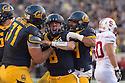 BERKELEY, CA - November 22, 2014: The Big Game. The Cal Bears vs the Stanford Cardinal in Berkeley, California. Final score, Cal Bears 17, Stanford Cardinal 38.
