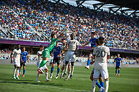 SAN JOSE, CA - AUGUST 8: Tomás Romero #30 during a game between Los Angeles FC and San Jose Earthquakes at PayPal Stadium on August 8, 2021 in San Jose, California.