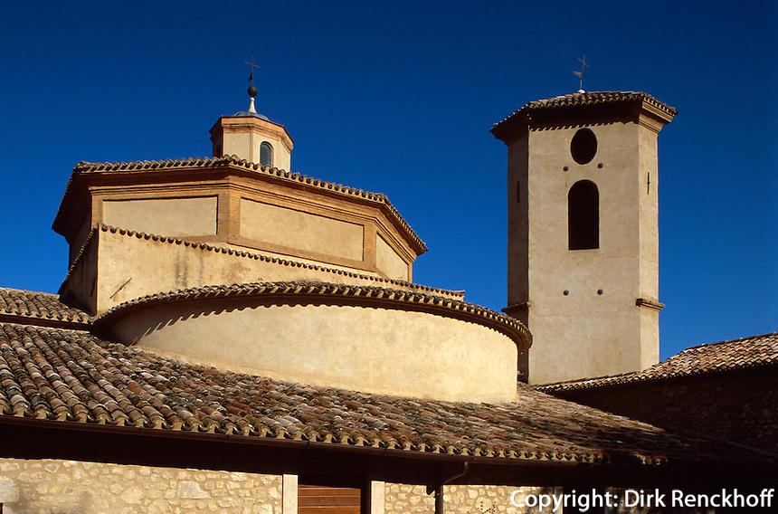 Italien, Umbrien, San Pietro fuori le Mura in Spoleto, 13. Jh.