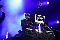 NEW YORK, NY - SEPTEMBER 11: DJ Tunez at BRIC Celebrate Brooklyn! Festival at The Lena Horne Bandshell in Prospect Park, Brooklyn, New York City on September 11, 2021. <br /> CAP/MPI/WG<br /> ©WG/MPI/Capital Pictures