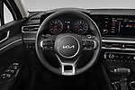 Car pictures of steering wheel view of a 2022 KIA K5 LXS-FWD 4 Door Sedan Steering Wheel