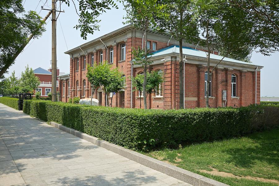 Butterfield & Swire Office.  Street-Side, Facing South.  Yingkou (Newchwang).