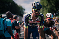 Guillaume Van Keirsbulck (BEL/Wanty-Groupe Gobert) rolling in post-finish<br /> <br /> Stage 9: Arras Citadelle > Roubaix (154km)<br /> <br /> 105th Tour de France 2018<br /> ©kramon