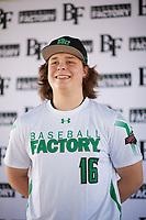 Tyler Rigot (16) of Charlotte Country Day School in Weddington, North Carolina during the Baseball Factory All-America Pre-Season Tournament, powered by Under Armour, on January 12, 2018 at Sloan Park Complex in Mesa, Arizona.  (Zachary Lucy/Four Seam Images)