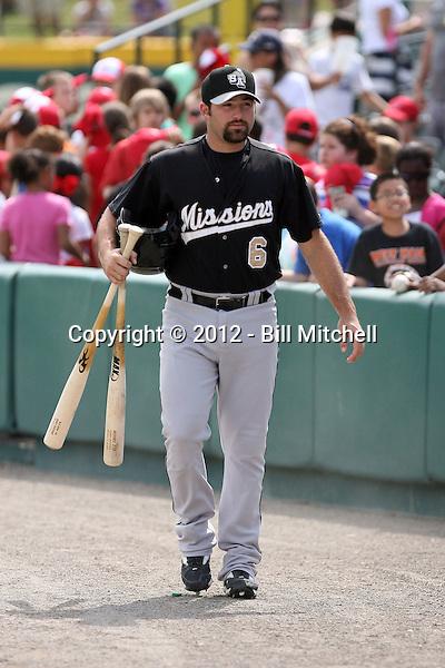 Cody Decker - 2012 San Antonio Missions (Bill Mitchell)
