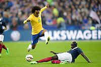 Mamadou Sakho (Fra) vs Willian (Brasile) <br /> Parigi 26-03-2015 Stade De France Calcio Football 2014/2015 Amichevole Francia Brasile <br /> Foto Panoramic / Insidefoto