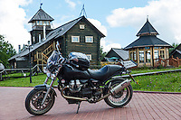 Gruzdovo, Russia, 23/07/2013.<br /> Moto Guzzi Bellagio at  the Volyn Country Club.