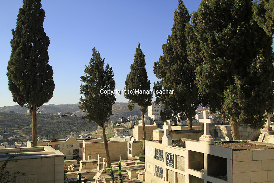 Bethlehem, the cemetery at the Church of the Milk Grotto