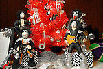 Kiss figures stand by the rock-n-roll tree at the Trees of Hope Gala benefitting Star of Hope children's programs at the HIlton Americas Hotel Friday Nov. 20,2009. (Dave Rossman/For the Chronicle)