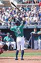 MLB: Ichiro of Seattle Mariners during spring training game