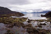 Haida Gwaii (Queen Charlotte Islands), BC, British Columbia, Canada - Rocky Coastline on Graham Island