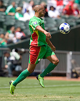 05 July 2009:  Thomas Gamiette of Guadeloupe in action during the game against Panama at Oakland-Alameda County Coliseum in Oakland, California.   Guadeloupe defeated Panama, 2-0.
