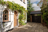 BNPS.co.uk (01202) 558833. <br /> Pic: UniquePropertyCompany/BNPS<br /> <br /> Pictured: Main entrance. <br /> <br /> Haus proud...<br /> <br /> A house designed in German Bavarian style in the south London commuter belt is on the market for £1.1m.<br /> <br /> Holly Lodge, a former pheasant shooting lodge and coaching inn, belonged to an engineer who fell in love with German architecture when he worked in the country.<br /> <br /> He bought and completely redesigned the building in the 1980s.<br /> <br /> The property, which is in the borough of Bromley, has four bedrooms, two bathrooms and two reception rooms.