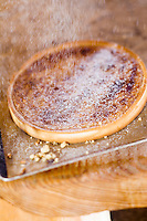 """Europe/France/Rhône-Alpes/73/Savoie/Beaufortain/Hauteluce: Tarte au noix - Recette  de Cyril Suet Chef de  Hotel-Restaurant """"La Ferme du Chozal"""""""