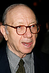 Neil Simon attending  the Opening Night after party<br />for the New David Mamet Play NOVEMBER at Restaurant Bond 45 in New York City.<br />January 17, 2008<br />© Walter McBride /