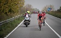 Gregory Rast (SUI/Trek-Segafredo) forcing the breakaway<br /> <br /> 98th Milano - Torino 2017 (ITA) 186km