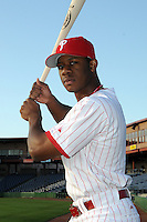 Feb 20, 2009; Clearwater, FL, USA; The Philadelphia Phillies infielder Anthony Hewitt (87) during photoday at Bright House Field. Mandatory Credit: Tomasso De Rosa/ Four Seam Images