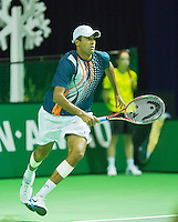 10-02-13, Tennis, Rotterdam, qualification ABNAMROWTT,   Rajeev Ram