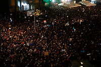 Oltre 10000 partecipanti per il movimento delle Sardine Napoletane<br /> Il popolo dei noallalega si è riunito in piazza dante a Napoli