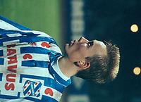 VOETBAL: SC Heerenveen, Tonny Alberda 1993, ©foto Martin de Jong