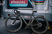 mudded bike of ISERBYT Eli (BEL/Marlux-Bingoal) post-race / pre-wash<br /> <br /> GP Sven Nys (BEL) 2019<br /> DVV Trofee<br /> ©kramon