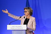 VALERIE PECRESSE, RENCONTRE AVEC LES ULTRAMARINS A PARIS, FRANCE, LE 29/03/2017.
