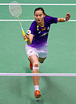 Players in action during the Yonex Sunrise Hong Kong Open Badminton on November 24, 2013 at the Hung Hom Coliseum in Hong Kong, China. Photo by Victor Fraile / The Power of Sport Images