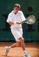 16-8-06,Amsterdam, Tennis, NK, First round match, Eric Reuijl