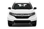 Car photography straight front view of a 2019 Honda CR-V LX 5 Door SUV Front View