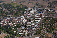 aerial photograph of the University of Nevada, Reno, Washoe County, Nevada