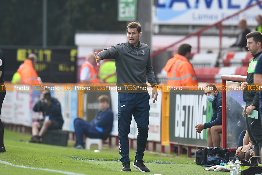 Exeter City Manager Matt Taylor during Stevenage vs Exeter City, Sky Bet EFL League 2 Football at the Lamex Stadium on 9th October 2021