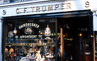 London: C. F. Trumper Hairdresser, Curzon St., Mayfair.