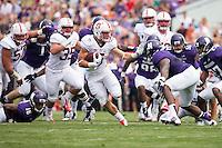 September 5, 2015, Evanston, IL:  Stanford Cardinal vs Northwestern Wildcats at Ryan Field.  Northwestern defeated Stanford 16-6.