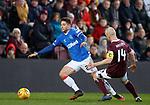 26.01.2020 Hearts v Rangers: Matt Polster and Steven Naismith
