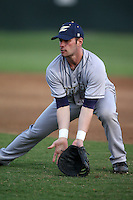 March 13, 2010:  First Baseman Brian Kordal (33) of the Akron Zips vs. the Yale Bulldogs in a game at Henley Field in Lakeland, FL.  Photo By Mike Janes/Four Seam Images