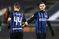 Mauro Icardi-Ivan Perisic<br /> Milano 19-1-2019 Giuseppe Meazza stadium Football Serie A 2018/2019 Inter - Sassuolo <br /> Foto Image Sport / Insidefoto