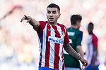 Angel Correa of Atletico de Madrid in action during the La Liga match between Atletico de Madrid vs Osasuna at the Estadio Vicente Calderon on 15 April 2017 in Madrid, Spain. Photo by Diego Gonzalez Souto / Power Sport Images