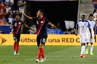 Harrison, NJ - Friday July 07, 2017: Francisco Calvo during a 2017 CONCACAF Gold Cup Group A match between the men's national teams of Honduras (HON) vs Costa Rica (CRC) at Red Bull Arena.