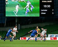 Saturday 12th September 2020 | PRO14 Final - Leinster vs Ulster<br /> <br /> Alby Mathewson during the Guinness PRO14 Final between Leinster ands Ulster at the Aviva Stadium, Lansdowne Road, Dublin, Ireland. Photo by John Dickson / Dicksondigital
