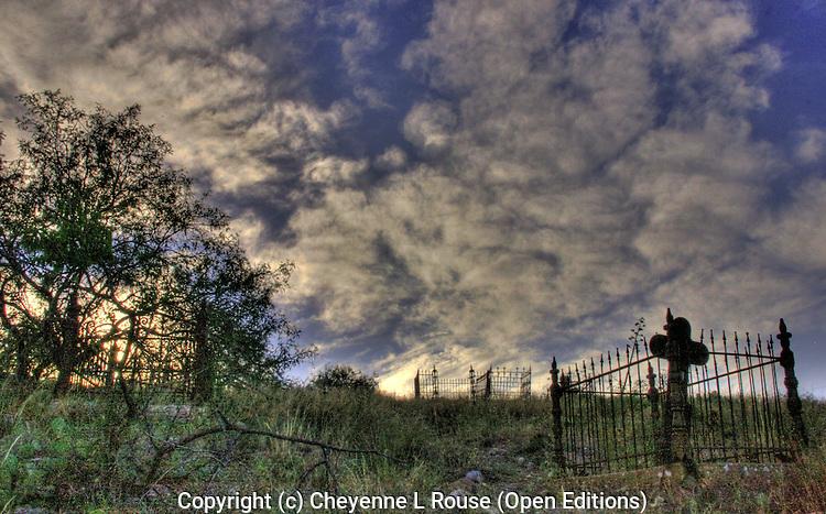 Jerome cemetery cross - Arizona