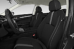 Front seat view of 2018 Honda Civic LX 4 Door Sedan Front Seat  car photos