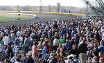 April 05, 2014: Keeneland Ashland Stakes day crowd attendance: 27,688.  Candice Chavez/ESW/CSM